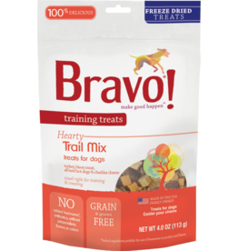 Bravo Bravo Freeze Dried Dog Treats Trail Mix Training Treats 4 oz