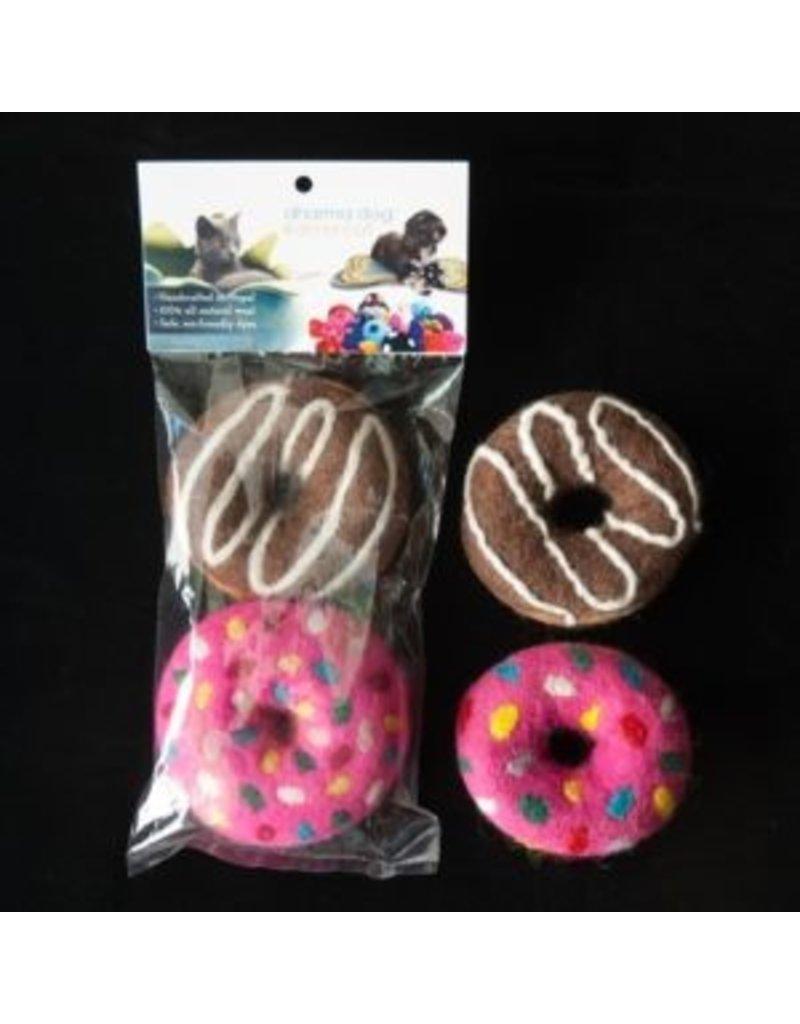 Distinctly Himalayan Distinctly Himalayan Cat Toy Donut 2 pack
