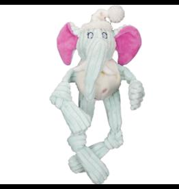 HuggleHounds HuggleHounds Toys Party Animal Elephant Knottie Extra Small (XS)/Wee