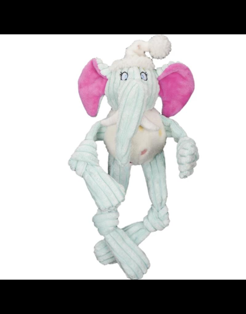 HuggleHounds HuggleHounds Toys Plush Birthday Party Animal Elephant XS/Wee