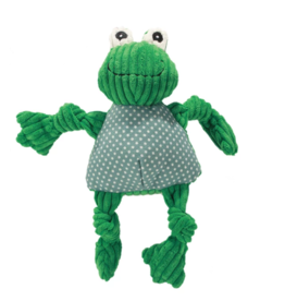 HuggleHounds HuggleHounds Toys Frog Knottie Large