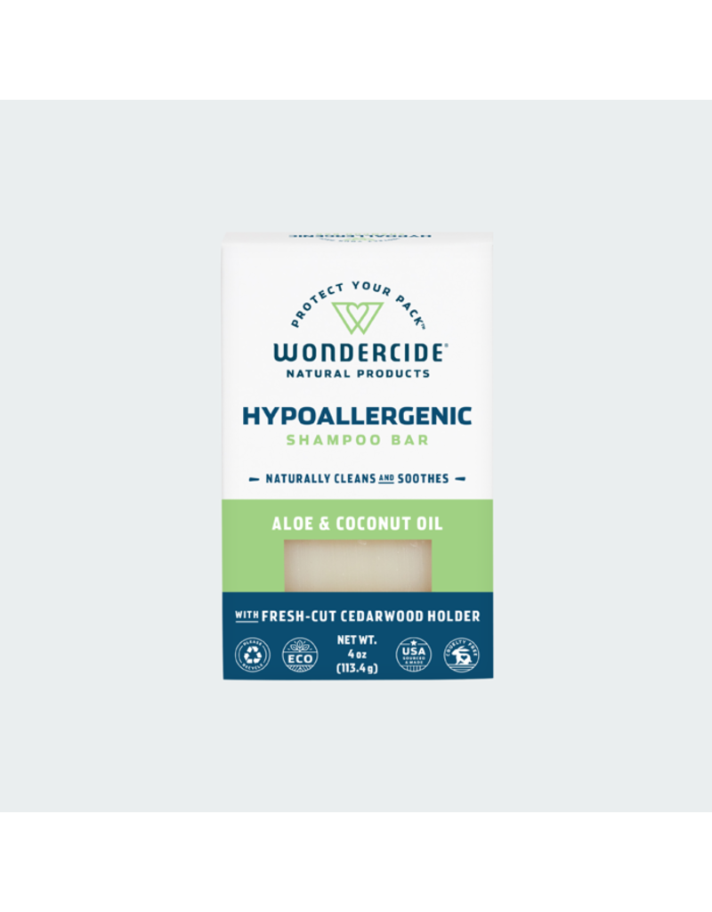 Wondercide Wondercide Shampoo Bar   Aloe & Coconut 4 oz