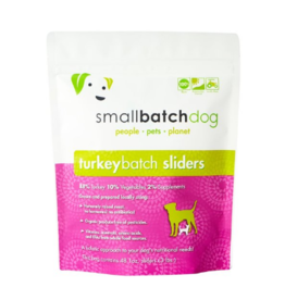 Smallbatch Pets Smallbatch Frozen Dog Food 1 oz Sliders | CASE Turkey 3 lbs (*Frozen Products for Local Delivery or In-Store Pickup Only. *)