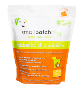 Smallbatch Pets Smallbatch Frozen Dog Food Smallbites | CASE Chicken 4 lbs (*Frozen Products for Local Delivery or In-Store Pickup Only. *)