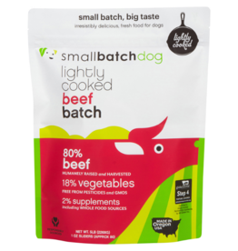 Smallbatch Pets Smallbatch Frozen Dog Food Lightly Cooked | CASE Beef 5 lbs (*Frozen Products for Local Delivery or In-Store Pickup Only. *)