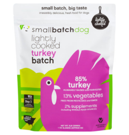Smallbatch Pets Smallbatch Frozen Dog Food Lightly Cooked | CASE Turkey 5 lbs (*Frozen Products for Local Delivery or In-Store Pickup Only. *)