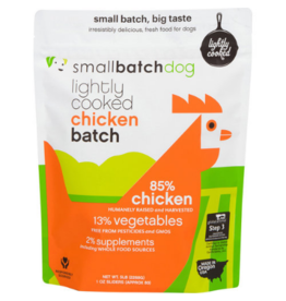 Smallbatch Pets Smallbatch Frozen Dog Food Lightly Cooked | CASE Chicken 5 lbs (*Frozen Products for Local Delivery or In-Store Pickup Only. *)