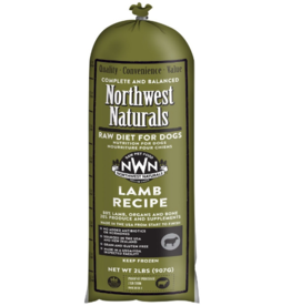 Northwest Naturals Northwest Naturals Frozen Chub Lamb 2 lb CASE  (*Frozen Products for Local Delivery or In-Store Pickup Only. *)