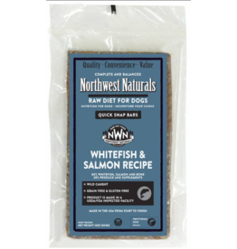 Northwest Naturals Northwest Naturals Frozen Bars Whitefish & Salmon 15 lb CASE (*Frozen Products for Local Delivery or In-Store Pickup Only. *)