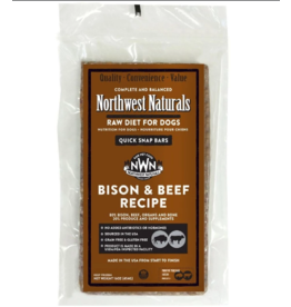 Northwest Naturals Northwest Naturals Frozen Bars Bison & Beef 15 lb CASE (*Frozen Products for Local Delivery or In-Store Pickup Only. *)