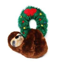 Pet Shop Pet Shop Hanging Sloth with Wreath Plush Toy