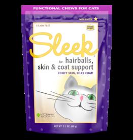 Inclover InClover Cat Soft Treats Sleek Hairballs Skin & Coat 2.1 oz