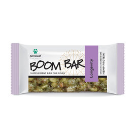 Pet Releaf Pet Releaf Boom Bar Hemp Protein Supplement  Longevity 1.6 oz CASE