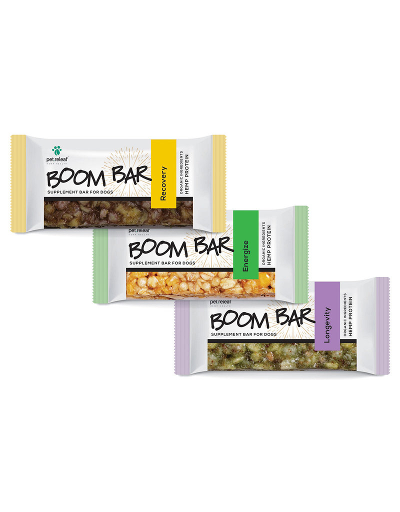 Pet Releaf Pet Releaf Boom Bar Hemp Protein Supplement Energize 1.6 oz single