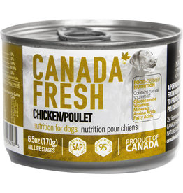 Petkind Petkind Canada Fresh Canned Dog Food CASE Chicken 6.5 oz