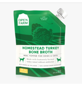 Open Farm Open Farm Bone Broth Homestead Turkey 12 oz Single