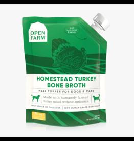 Open Farm Open Farm Bone Broth | Homestead Turkey 12 oz CASE
