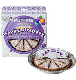 Lazy Dog Cookie Co. Lazy Dog Pup-Pie Dog Treats The Original Happy Birthday 5 oz single