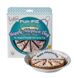 Lazy Dog Cookie Co. Lazy Dog Pup-Pie Dog Treats Happy Adoption Day 5 oz single