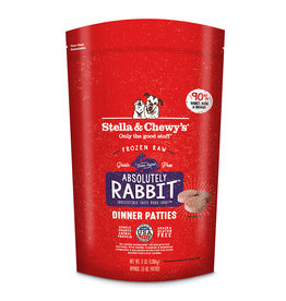 Stella & Chewy's Stella & Chewy's Raw Frozen Dog Food Absolutely Rabbit Patties 3 lb (*Frozen Products for Local Delivery or In-Store Pickup Only. *)