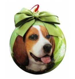 E&S Pets Christmas Ornament Beagle