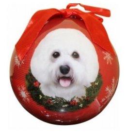 E&S Pets E&S Pets Christmas Ornament Bichon Frise