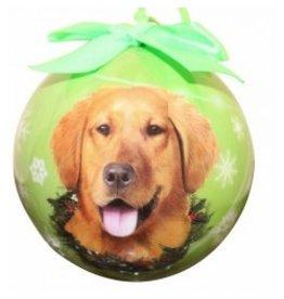 E&S Pets E&S Pets Christmas Ornament Golden Retriever