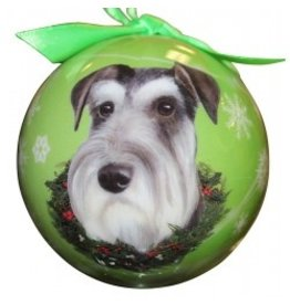 E&S Pets Christmas Ornament Schnauzer