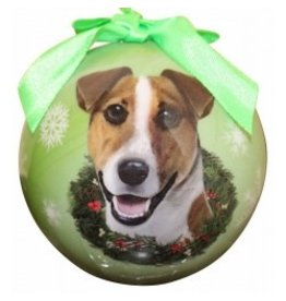 E&S Pets Christmas Ornament Jack Russell