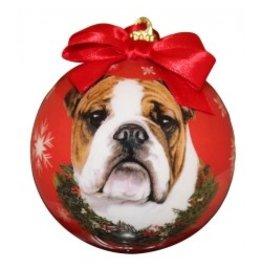 E&S Pets Christmas Ornament Bulldog