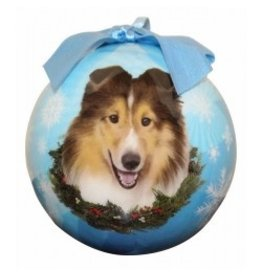 E&S Pets Christmas Ornament Sheltie