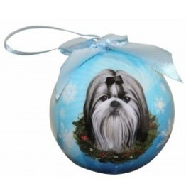 E&S Pets Christmas Ornament Shih Tzu