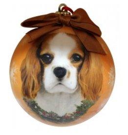 E&S Pets E&S Pets Christmas Ornament King Charles Cavalier