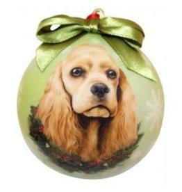 E&S Pets Christmas Ornament Cocker Spaniel