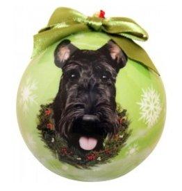 E&S Pets Christmas Ornament Scottie