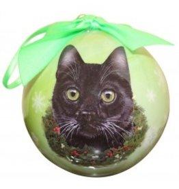 E&S Pets Christmas Ornament Black Cat