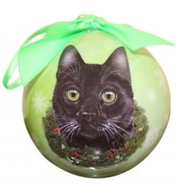 E&S Pets E&S Pets Christmas Ornament Black Cat
