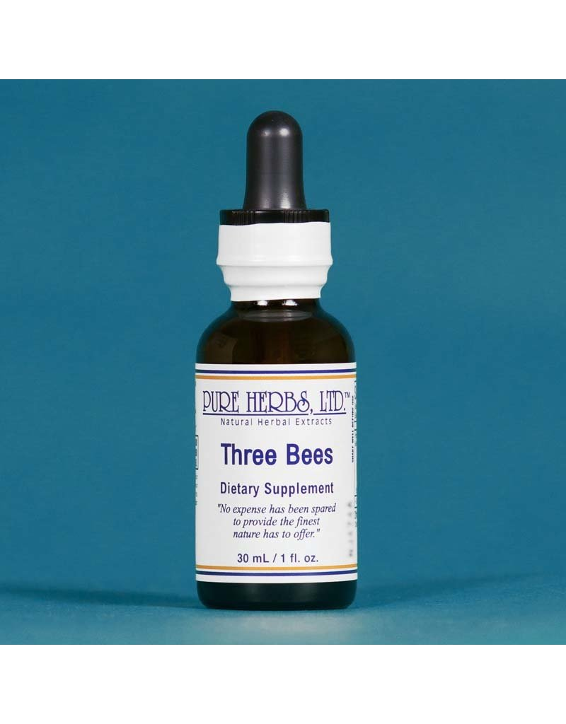 Pure Herbs LTD Pure Herbs LTD Three Bees 1 fl oz