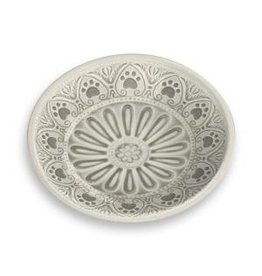 Tar Hong Tar Hong Paw Print Pet Food Saucer