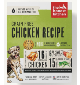 The Honest Kitchen The Honest Kitchen Dehydrated Dog Food Grain-Free Chicken Force 4 lb