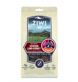 Ziwipeak ZiwiPeak Dog Chews Venison Lung & Kidney Chips 2.1 oz