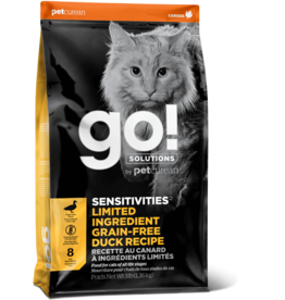Petcurean Z Petcurean Go! Cat Kibble Sensitivities: LID Duck 16 lb