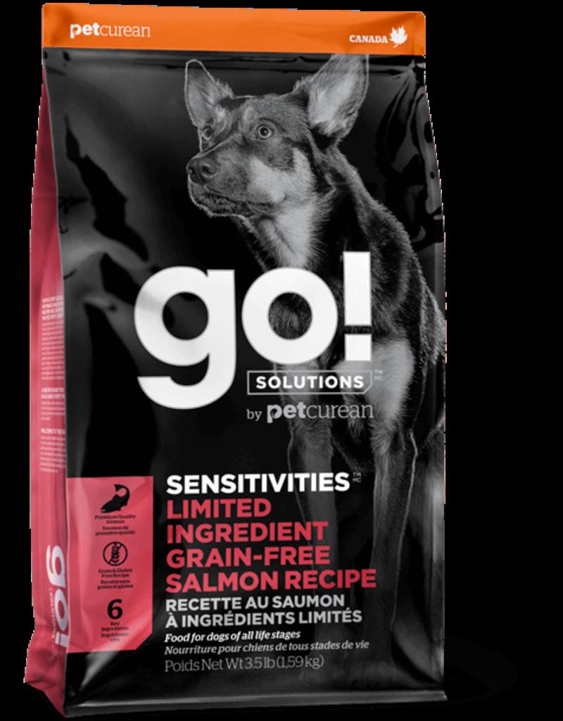 Petcurean GO! Dog Kibble Sensitivities: LID Salmon 22 lbs
