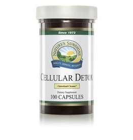 Nature's Sunshine Supplements All Cell Detox 100 capsules