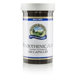 Nature's Sunshine Supplements Pantothenic Acid 100 capsules