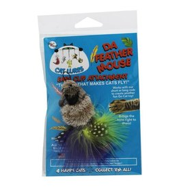 Go Cat Go Cat Toys Da Feather Mouse Refill
