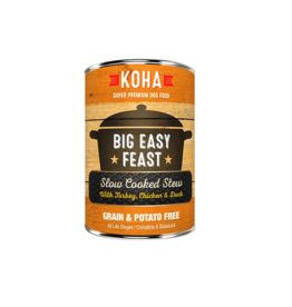 Koha Koha Canned Dog Food CASE Big Easy Feast 12.7 oz