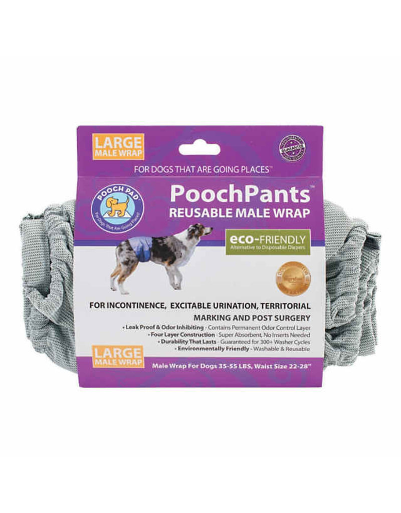 Poochpad PoochPants Male Wrap Large