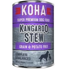 Koha Koha Canned Dog Food CASE Kangaroo Stew 12.7 oz