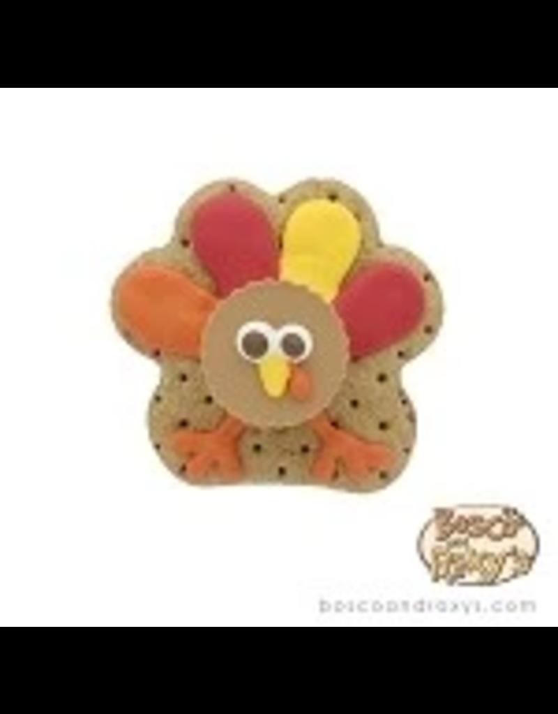 Bosco and Roxy's Bosco & Roxy's Oh My Gourd   Fall 3D Turkey Face single